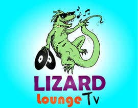nº 49 pour Logo design for live event streaming website: Lizard Lounge Tv par belou
