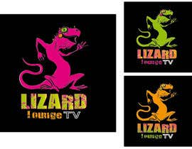 #34 for Logo design for live event streaming website: Lizard Lounge Tv af Queberry333