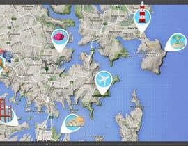 Nro 3 kilpailuun Illustrate Map of Sydney with cartoon like elements käyttäjältä rahillohiya86