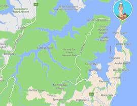 Nro 2 kilpailuun Illustrate Map of Sydney with cartoon like elements käyttäjältä maryanakons