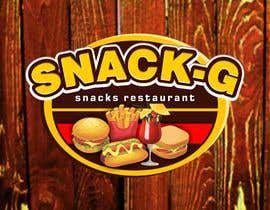 MariGoRound tarafından Design a Logo for: Snacks Restaurant için no 68