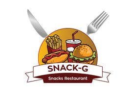 aajmanzalawy tarafından Design a Logo for: Snacks Restaurant için no 72