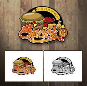 Jennynday tarafından Design a Logo for: Snacks Restaurant için no 38