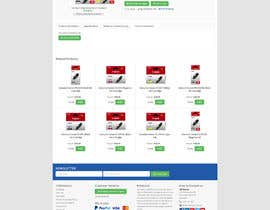 #12 for Website Mockup: Make my website look better for customers by maniapp92