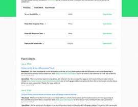 ahmedhamed91 tarafından Design a Status Page Website Mockup için no 14