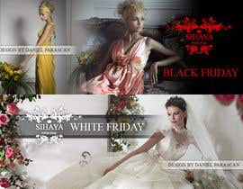 dalizon tarafından URGENT: Design a Banner for Bridal Shop Black Friday için no 2