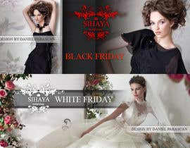 #4 for URGENT: Design a Banner for Bridal Shop Black Friday by dalizon