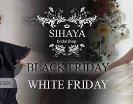 #6 para URGENT: Design a Banner for Bridal Shop Black Friday por dalizon