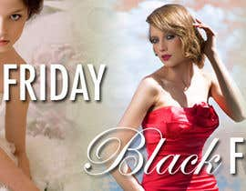 #11 for URGENT: Design a Banner for Bridal Shop Black Friday by dalovell