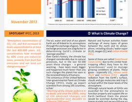 nº 1 pour Design a Info-Bulletin template for a climate change & agriculture awareness-raising par barinix
