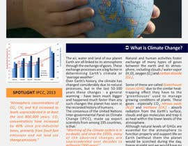 nº 2 pour Design a Info-Bulletin template for a climate change & agriculture awareness-raising par barinix