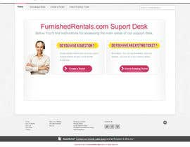 #7 for Design a Website Mockup for simple help desk page by gravitygraphics7