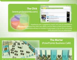 #8 untuk Graphic Design for Flyer for PolarPointe.com, the entrepreneurs social network. oleh s3r4ph11