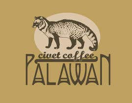 #88 para LOGO & CIVET CAT design for our product package (Quick Project) por shefkire