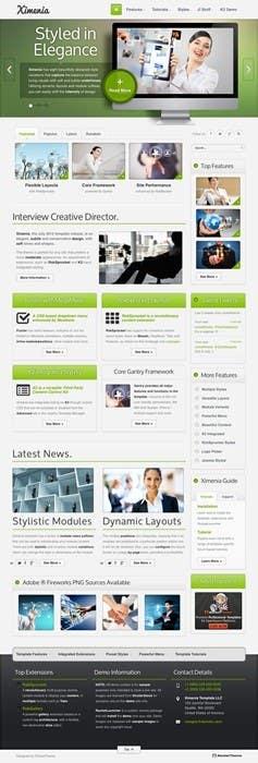 Kilpailutyö #1 kilpailussa Design a layout of existing web site