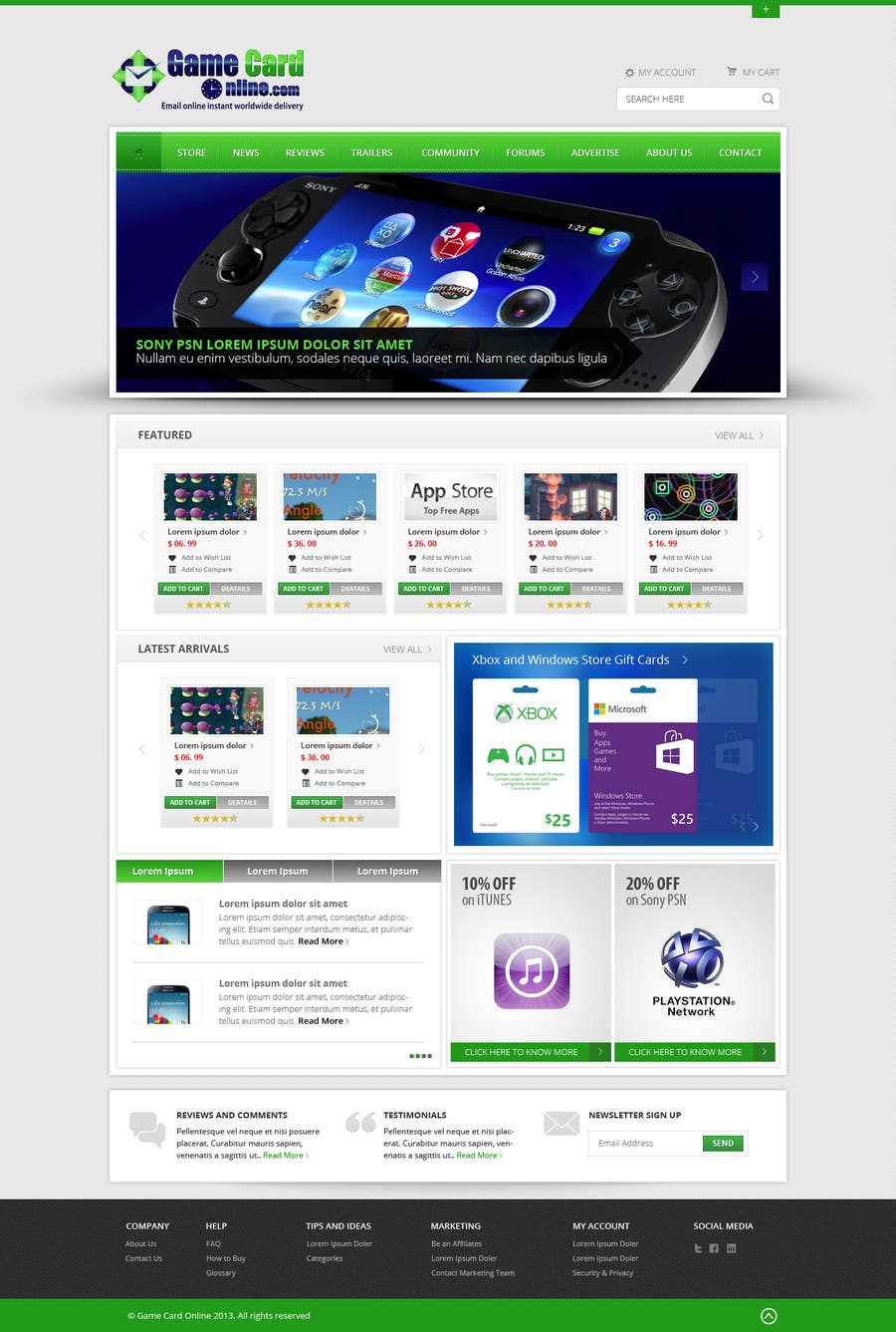 #59 for Design a Website Mockup for ecommerce site by Pavithranmm