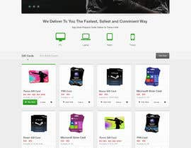 #63 for Design a Website Mockup for ecommerce site by edbryan