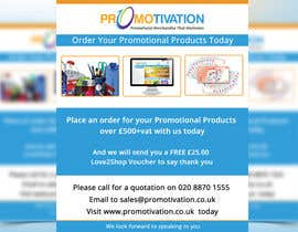 Nro 2 kilpailuun Order Promotional Products Today Flyer käyttäjältä mdmirazbd2015