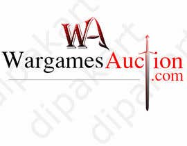 #39 for Design a Logo for WargamesAuction.com by dipakart