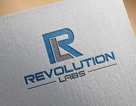 Nro 39 kilpailuun Revolution Labs Logo käyttäjältä shahadatmizi