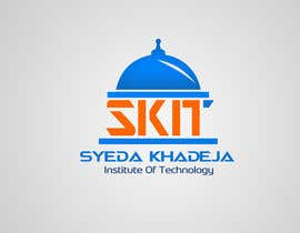 nº 10 pour Design a Logo for SKIT (Syeda Khadeja Institute Of Technology ) par mohamedabbass