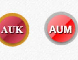 #19 for Modern design of css circled buttons af IulianArama
