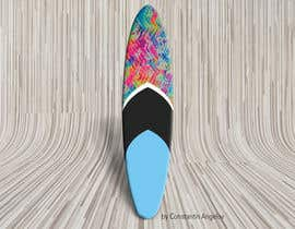 #21 para Create High Resolution Tie-Dye Art for a Paddleboard por lz1kka