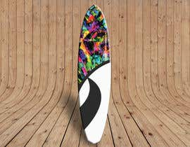 #22 para Create High Resolution Tie-Dye Art for a Paddleboard por lz1kka