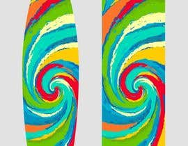 #31 cho Create High Resolution Tie-Dye Art for a Paddleboard bởi Galina4