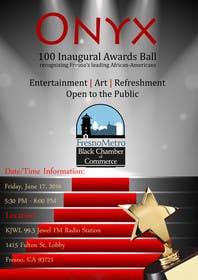 binary14 tarafından Design a Flyer- Onyx 100 Honoree Reception için no 5