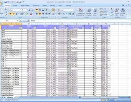 #4 untuk Excell sheet that will take grouped data and ungroup it and organize it oleh waytogk