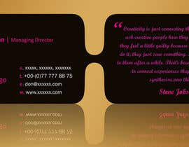 #27 for Design modern business cards af linokvarghese