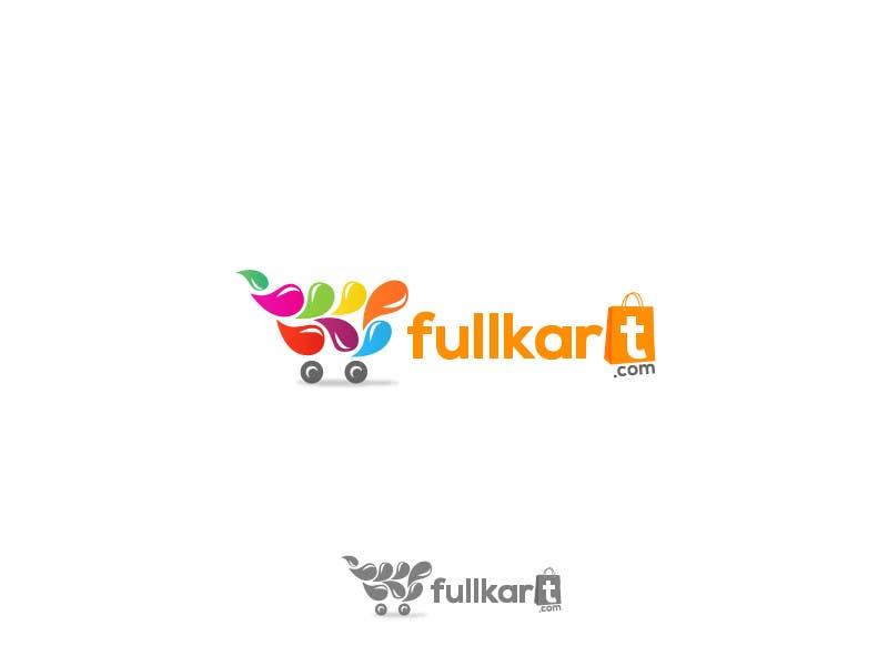 #144 for Design a logo for a shopping website www.fullkart.com by stoske