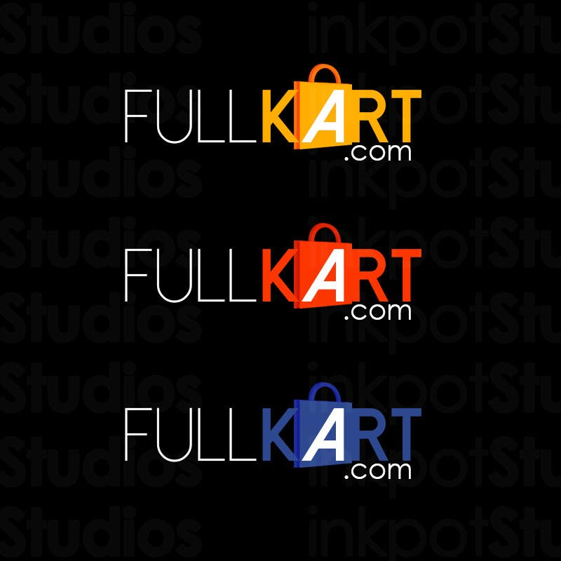 #2 for Design a logo for a shopping website www.fullkart.com by inkpotstudios