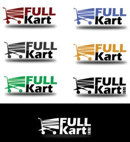 #52 for Design a logo for a shopping website www.fullkart.com by Gezmins