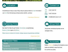 #12 for Redesign one webpage in PSD af aishaelsayed95