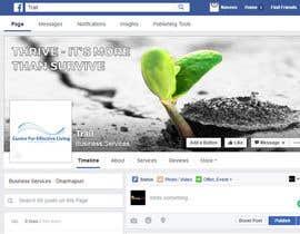 Nro 54 kilpailuun Design a Facebook landing page käyttäjältä abhimanyu3