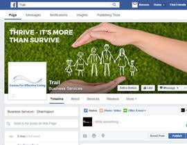Nro 55 kilpailuun Design a Facebook landing page käyttäjältä abhimanyu3