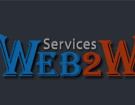#17 para Design a Logo for Web2W por ccet26