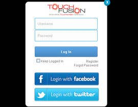 nº 11 pour Cool looking Log In Screen Design par snackeg
