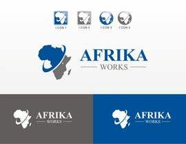 nº 227 pour Logo Design for Africa Works par madcganteng