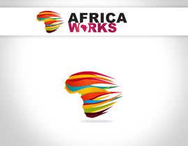 nº 301 pour Logo Design for Africa Works par linxoo