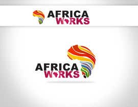nº 300 pour Logo Design for Africa Works par linxoo