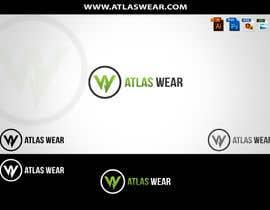 Nro 95 kilpailuun Creating Atlas Wear Logo (Fitness Company) käyttäjältä duakhan2002