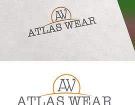 Nro 98 kilpailuun Creating Atlas Wear Logo (Fitness Company) käyttäjältä tjilon2014