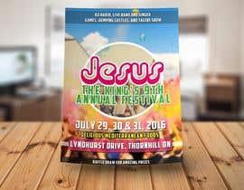 Nro 14 kilpailuun church festival poster käyttäjältä infosouhayl