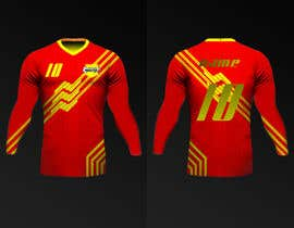 Nro 17 kilpailuun Design a soccer Jersey käyttäjältä Rhandyv
