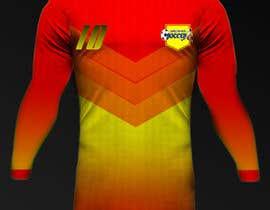 Nro 27 kilpailuun Design a soccer Jersey käyttäjältä Rhandyv