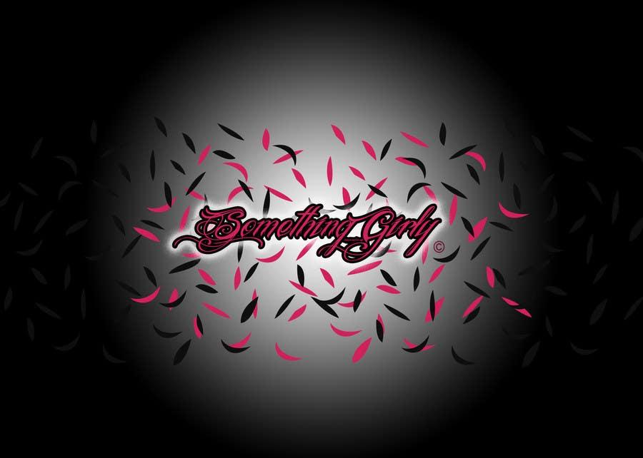 Inscrição nº                                         123                                      do Concurso para                                         Logo Design for Something Girly
