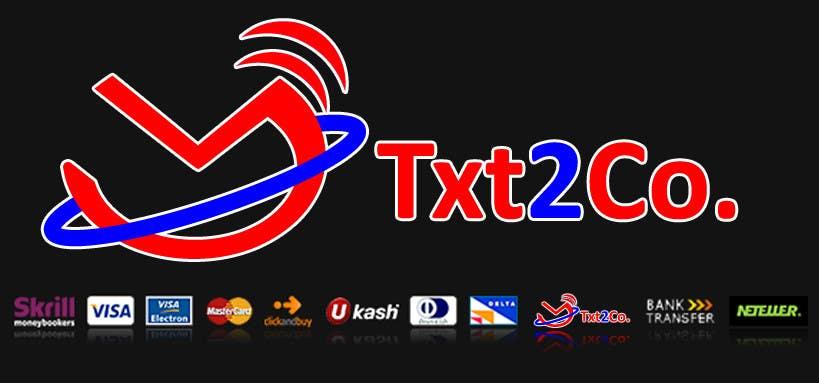 Конкурсная заявка №450 для Logo Design for Txt2 Co.